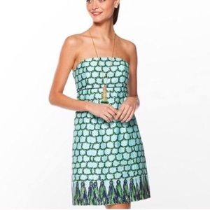 Lilly Pulitzer tassel macrame me dress size 6
